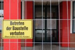 """""""Betreten der Baustelle verboten"""" noch bis Herbst 2017"""
