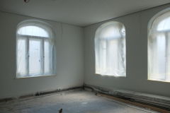 2017_06_09_Abgeklebte Fenster im Erdgeschoss